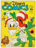 Golden Age (1938-1955):Cartoon Character, Walt Disney's Comics and Stories #16 (Dell, 1942) Condition: VG+....