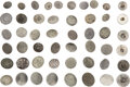 Military & Patriotic:Revolutionary War, Colonial America: Assorted Pewter Buttons. Fif...