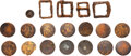 Military & Patriotic:Revolutionary War, Colonial America: Copper Buttons and Relic Buckles.. ...