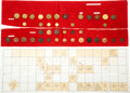 Military & Patriotic:Pre-Civil War, U. S. and British Military: Federal Period Artillery Buttons.. ...
