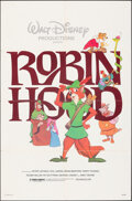 "Movie Posters:Animation, Robin Hood & Other Lot (Buena Vista, R-1982). Folded, Very Fine-. One Sheets (2) (27"" X 41""). Animation.. ... (Total: 2 Items)"