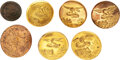 Military & Patriotic:Pre-Civil War, U. S. Military: Engineer Corps Buttons. Seven ...