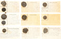 Military & Patriotic:Revolutionary War, Revolutionary War and War of 1812: Relic Buttons on Displa...