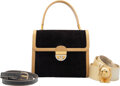 Luxury Accessories:Accessories, Gucci and Judith Leiber Set of Three: Handbag and Belts
