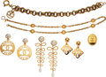 Luxury Accessories:Accessories, Chanel Set of Six: Assorted Jewelry Conditio...