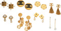 Luxury Accessories:Accessories, Chanel Set of Eight: Earrings Condition: 4