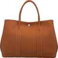 Luxury Accessories:Bags, Hermès 36cm Gold Negonda Leather Garden Party Tote Bag wi...