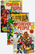 Bronze Age (1970-1979):Superhero, The Forever People #1-11 Group (DC, 1971-72).... (Total: 11 )