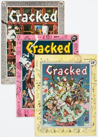 Cracked #1-7 Group (All-American, 1958-59) Condition: Averaeg VG.... (Total: 7 Comic Books)