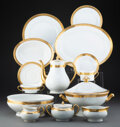 Ceramics & Porcelain, A One Hundred and One-Piece Haviland Du Barry Pattern Partial Gilt Porcelain Dinner and Coffee Service, late 20t... (Total: 101 Items)
