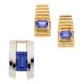 Estate Jewelry:Suites, Tanzanite, Gold Jewelry Suite The suite consis...