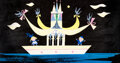 "Animation Art:Concept Art, Mary Blair ""It's a Small World"" Concept Painting (Walt Disney, 1964/66)...."