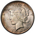 Peace Dollars, 1927-S $1 MS64+ PCGS. PCGS Population: (1570/96). NGC Census: (1033/78). CDN: $750 Whsle. Bid for NGC/PCGS MS64. Mintage 86...