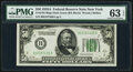 Small Size:Federal Reserve Notes, Fr. 2101-B $50 1928A Dark Green Seal Federal Reserve Note. PMG Choice Uncirculated 63 EPQ.. ...