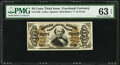 Fractional Currency:Third Issue, Fr. 1326 50¢ Third Issue Spinner PMG Choice Uncirculated ...