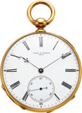 Timepieces:Wristwatch, Vacheron Constantin, Extremely Rare and Early Pivoted Dete...
