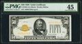 Small Size:Gold Certificates, Fr. 2404 $50 1928 Gold Certificate. PMG Choice Extremely Fine 45.. ...
