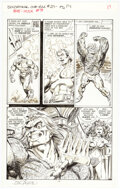 Original Comic Art, John Byrne The Sensational She-Hulk #39 Story Page 14 Original Art (Marvel, 1992)....
