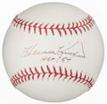 Autographs:Baseballs, Harmon Killebrew Single Signed Baseball. Offered i...