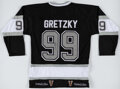 Autographs:Jerseys, Wayne Gretzky Signed Los Angeles Kings Jersey. Of...