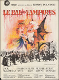 "Movie Posters:Comedy, The Fearless Vampire Killers (MGM, 1968). Folded, Fine/Very Fine. French Grande (45.5"" X 62"") Clement Hurel Artwork. Comedy...."