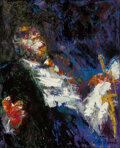 Paintings, LeRoy Neiman (American, 1921-2012). Satchmo (Louis Armstrong), 1962. Oil on canvas . 39-1/2 x 32 inches (100.3 x 81.3 cm...