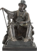 Paintings, Joe Beeler (American, 1931-2006). Chief Goes to Washington. Bronze with brown patina. 19 inches (48.3 cm) high on a 1-3/...
