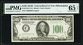 Small Size:Federal Reserve Notes, Fr. 2156-C $100 1934D Federal Reserve Note. PMG Gem Uncirculated 65 EPQ.. ...