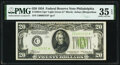 Small Size:Federal Reserve Notes, Fr. 2054-C* $20 1934 Light Green Seal Federal Reserve Note. PMG Choice Very Fine 35 EPQ.. ...