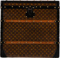 """Luxury Accessories:Travel/Trunks, Louis Vuitton Monogram Coated Canvas Trunk. Condition: 3. 26"""" Width x 25"""" Height x 24.5"""" Depth. ..."""