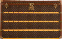 "Louis Vuitton Monogram Coated Canvas Steamer Trunk Condition: 1 43.5"" Width x 27.5"" Height x 24"""