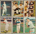 Baseball Cards:Lots, 1957 Topps Baseball Collection (182) With Stars. ...