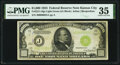 Small Size:Federal Reserve Notes, Fr. 2211-J $1,000 1934 Light Green Seal Federal Reserve Note. PMG Choice Very Fine 35.. ...