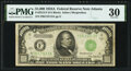Small Size:Federal Reserve Notes, Fr. 2212-F $1,000 1934A Federal Reserve Note. PMG Very Fine 30.. ...