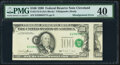 Error Notes:Miscellaneous Errors, Misaligned Face Printing Error Fr. 2173-D $100 1990 Federal Reserve Note. PMG Extremely Fine 40.. ...