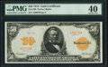 Large Size:Gold Certificates, Fr. 1198 $50 1913 Gold Certificate PMG Extremely Fine 40.. ...