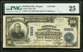 McMinnville, OR - $10 1902 Plain Back Fr. 627 The United States National Bank Ch. # 9806 PMG Very Fine