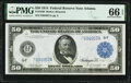 Large Size:Federal Reserve Notes, Fr. 1046 $50 1914 Federal Reserve Note PMG Gem Uncirculated 66 EPQ.. ...