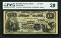 National Bank Notes:Maine, Boothbay Harbor, ME - $10 1882 Date Back Fr. 545 The First National Bank Ch. # (N)5598 PMG Very Fine 20.. ...