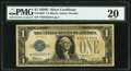 Small Size:Silver Certificates, Fr. 1604* $1 1928D Silver Certificate. PMG Very Fine 20.. ...
