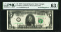 Error Notes:Doubled Face Printing, Doubled Second Printing Error Fr. 1974-G $5 1977 Federal Reserve Note PMG Choice Uncirculated 63 EPQ.. ...