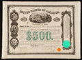 Miscellaneous:Other, Issued in United States of America $500 Bond. Extremely Fine-About Uncirculated.. ...