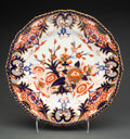 Ceramics & Porcelain, A Set of Twelve Derby Porcelain Kings Pattern Dinner Plates, circa 1820. Marks: (crown-crossed batons-D). 10-1/4 inches (26.... (Total: 12 Items)