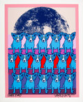 Prints & Multiples, George Rodrigue (1944-2013). Untitled. Serigraph in colors on wove paper. 31 x 25 inches (78.7 x 63.5 cm) (sheet). A.P....