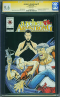Modern Age (1980-Present):Miscellaneous, Archer & Armstrong #9 - SIGNED BY BOB LAYTON ON 5/30/15 (Valiant, 1993) CGC NM+ 9.6 White pages.