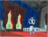 Mary Blair Cinderella Concept/Color Key Painting (Walt Disney, 1950)