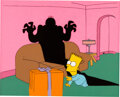 Animation Art:Production Cel, The Simpsons (The Tracey Ullman Show...