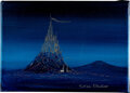 "Animation Art:Production Drawing, ""Silver Castle"" Original Painting by Harrison Ellenshaw (W..."