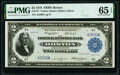 Large Size:Federal Reserve Bank Notes, Low Serial Number A2500A Fr. 747 $2 1918 Federal Reserve Bank Note PMG Gem Uncirculated 65 EPQ.. ...