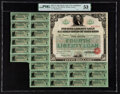 Fourth Liberty Loan 4 1/4% Gold Bond of 1933-38 $50 Oct. 24, 1918 PMG About Uncirculated 53